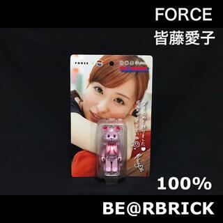 MEDICOM TOY - ベアブリック 100% FORCE 皆藤愛子 メディコムトイ