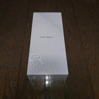 新品未開封★OPPO Reno A ブルー 64GB おまけ付き★送料込み