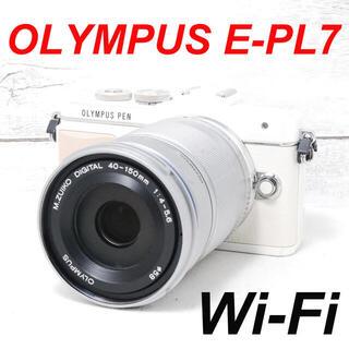 オリンパス(OLYMPUS)の❤️Wi-Fi搭載❤️自撮り❤️OLYMPUS E-PL7(ミラーレス一眼)