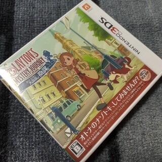ニンテンドー3DS(ニンテンドー3DS)の3DS レイトン ミステリージャーニー カトリーエイルと大富豪の陰謀(携帯用ゲームソフト)