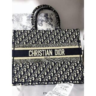 クリスチャンディオール(Christian Dior)のDIOR  ディオール ブックトート オブリークバッグ(トートバッグ)