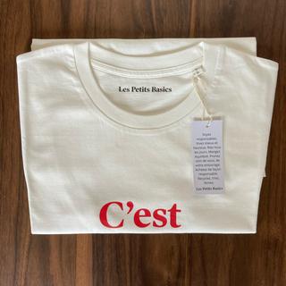 DEUXIEME CLASSE - 【新品未使用品】Les Petits Basics/ルベーシック tシャツ S
