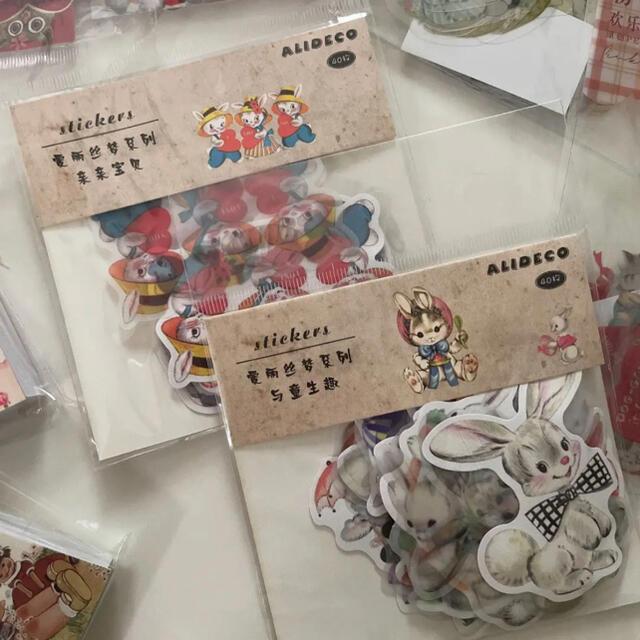 昭和レトロコラージュ素材たっぷり詰め合わせ ハンドメイドの素材/材料(各種パーツ)の商品写真