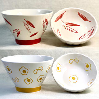 茶碗 小鉢 お碗 小皿 ご飯茶碗 取り皿 夫婦茶碗 食器セット 絵柄つき