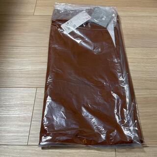 UNIQLO - エアリズムコットンスリットスカート Mサイズ ブラウン  茶色