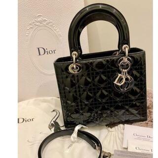 クリスチャンディオール(Christian Dior)のDior レディディオール バッグ カナージュ 2WAY(ハンドバッグ)