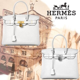 Hermes - ゴールド金具 バーキン タイプ バッグ  HERMES  バーキン30