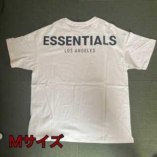 新品 Fear of god ESSENTIALS 半袖Tシャツ M FOG
