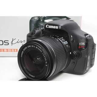 キヤノン(Canon)の❤️バリアングル液晶モニター搭載❤️Canon Kiss X5 レンズキット(デジタル一眼)