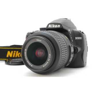 ニコン(Nikon)の★ WiFiSDでスマホ転送OK! Nikon D3000 レンズセット ★(デジタル一眼)