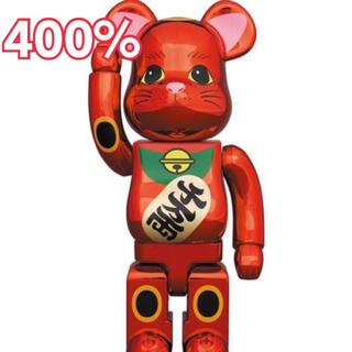 メディコムトイ(MEDICOM TOY)のBE@RBRICK 招き猫 梅金メッキ 400% ベアブリック(その他)