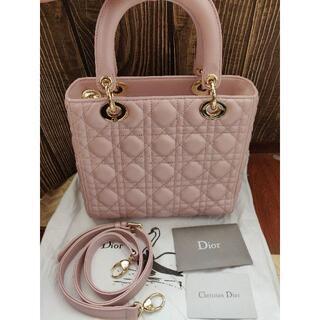 クリスチャンディオール(Christian Dior)の☆Dior レディディオール ハンドバッグ カナージュ(ハンドバッグ)