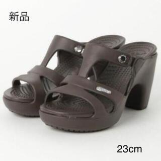 crocs - クロックス サイプラスvヒールサンダル 23