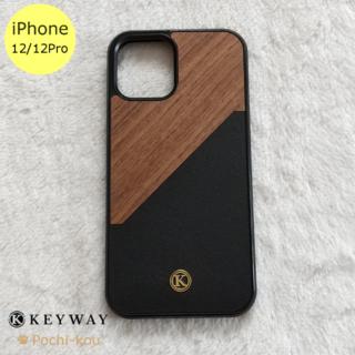 KEYWAY Walnut Rift iPhone12/12Proケース(iPhoneケース)
