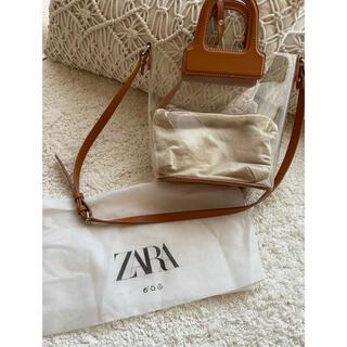 ZARA - zara PVCバック