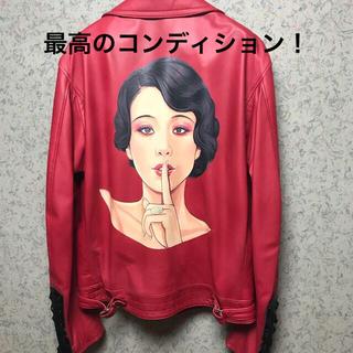 Yohji Yamamoto - yohjiyamamoto18aw サイトウユウスケ大正モダンガールレザーJKT