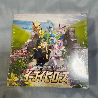 ポケモン(ポケモン)のイーブイヒーローズ box シュリンク(Box/デッキ/パック)