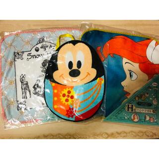 ディズニー(Disney)のディズニー ミッキー タオル3枚セット(ハンカチ)