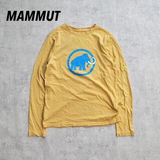 Mammut - MAMMUT マムート デカロゴ プリントT ロゴ刺繍 アウトドア レア
