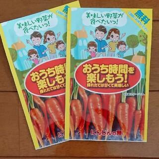 にんじんの種×2袋(アタリヤ農園)(野菜)