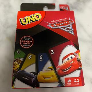 ディズニー(Disney)のカーズUNO 新品未使用(トランプ/UNO)