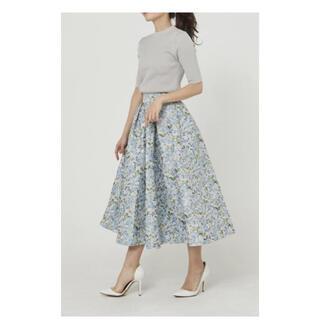 Drawer - SEVENTEN フラワージャガードスカート