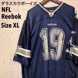 Reebok - NFL Reebok ゲームシャツ ネイビー ダラスカウボーイズ XL
