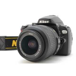 ニコン(Nikon)の★ 極上美品 WiFiでスマホ転送OK! Nikon D60 レンズキット ★(デジタル一眼)