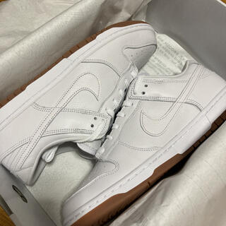 NIKE - NIKE dunk by you 28.5 ホワイト ガムソール