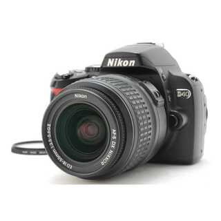 ニコン(Nikon)の★ 極上美品 スマホに転送OK!Nikon D40 レンズキット ★(デジタル一眼)
