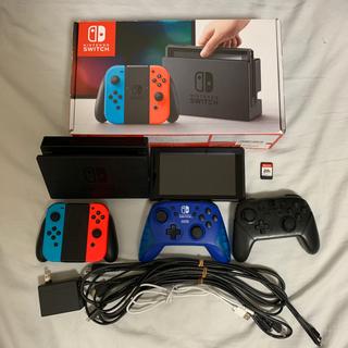 Nintendo Switch - Nintendo Switch 新型 コントローラーとスマブラ付き