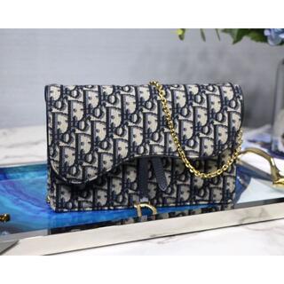クリスチャンディオール(Christian Dior)のSADDLE ウォレット(ショルダーバッグ)