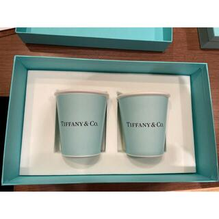 Tiffany & Co. - Tiffany&Co. ボーンチャイナ ペーパー カップ