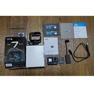 GoPro - GoPro HERO7 BLACK (純正マイクアダプター、マイクロSD付)