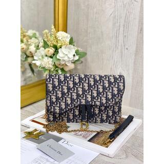 クリスチャンディオール(Christian Dior)のSADDLE ポーチ(ショルダーバッグ)