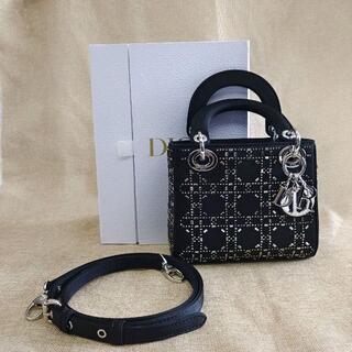 """クリスチャンディオール(Christian Dior)のDior★サテン LADY DIOR""""ミニバッグ(ショルダーバッグ)"""