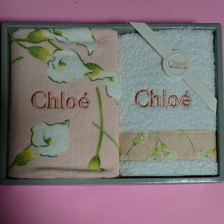 Chloe - クロエ Chloe ウオッシュタオル 2枚セット