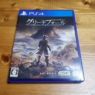 PlayStation4 - グリードフォール Greedfall PS4