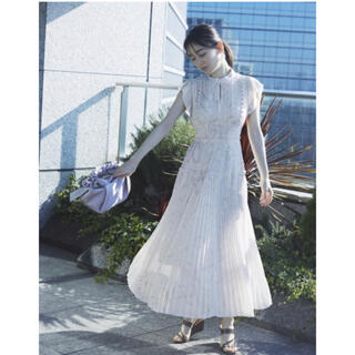 snidel - SNIDEL / スナイデル プリーツロングワンピース 完売品 ピンク