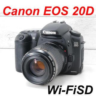 キヤノン(Canon)の❤️本格一眼レフ❤️スマホ転送❤️Canon EOS 20D(デジタル一眼)