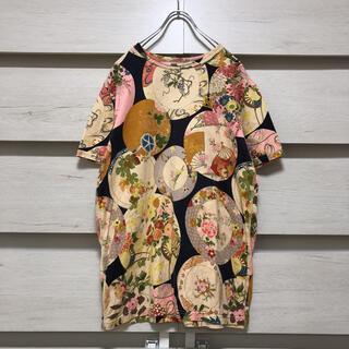 エビス(EVISU)のEVISエヴィス/hidehiko yamane/和柄総柄 Tシャツ(Tシャツ/カットソー(半袖/袖なし))