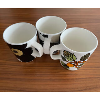 marimekko - marimekko マリメッコ マグカップ 250ml 3個 セット