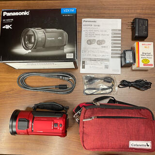 Panasonic - 美品 Panasonic ビデオカメラ 4K hc-vzx1m