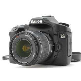 キヤノン(Canon)の★ 極上 憧れのキヤノン一眼レフ EOS 40D レンズキット ★(デジタル一眼)