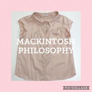 MACKINTOSH PHILOSOPHY - マッキントッシュフィロソフィー ブラウス