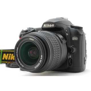 ニコン(Nikon)の★ 極上美品 iPhoneに転送OK!Nikon D50 レンズキット ★(デジタル一眼)