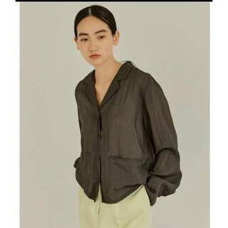 TODAYFUL - todayful ボーイフレンドオーガンジーシャツ 新品未使用