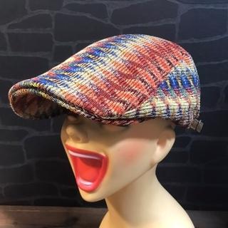 帽子 ハンチング 男女兼用 オールシーズン 幾何学柄(ハンチング/ベレー帽)