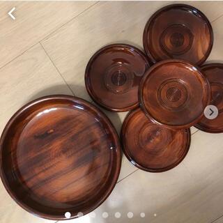 菓子盆と茶たくセット(食器)