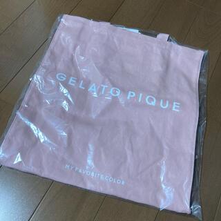 gelato pique - ラスト1点 新品未使用 ピンク ジェラートピケ トートバッグ